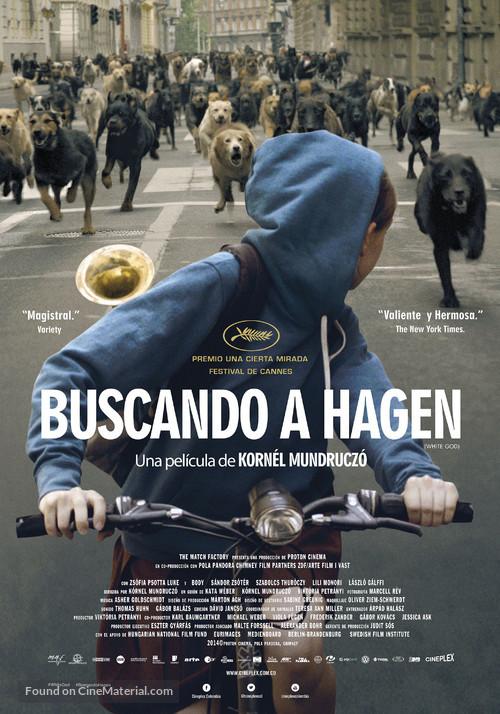 Fehér isten - Colombian Movie Poster