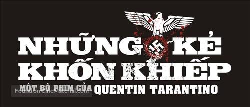 Inglourious Basterds - Vietnamese Logo