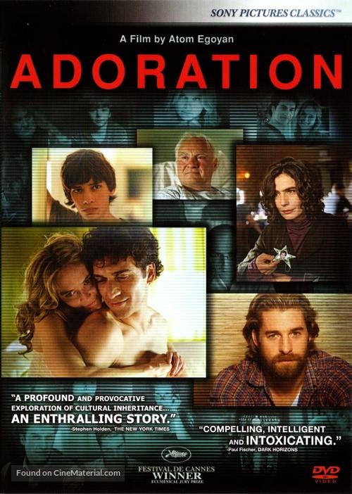 Adoration - DVD movie cover