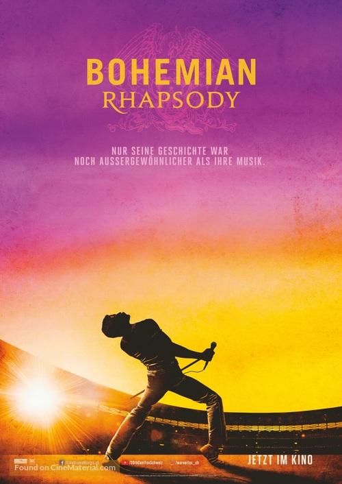 Bohemian Rhapsody - Swiss Movie Poster
