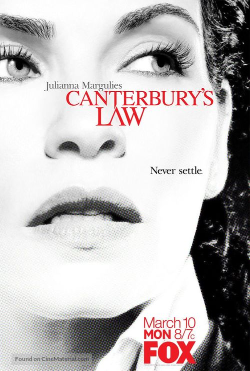 """""""Canterbury's Law"""" - poster"""
