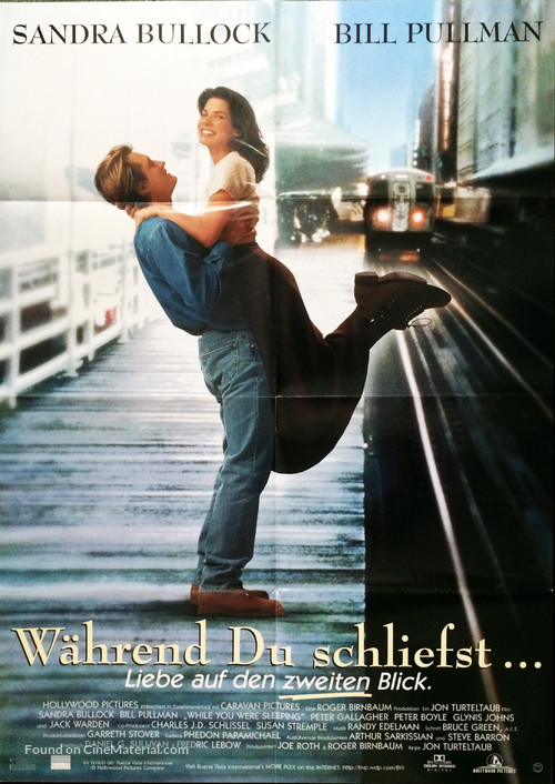 While You Were Sleeping - German Movie Poster