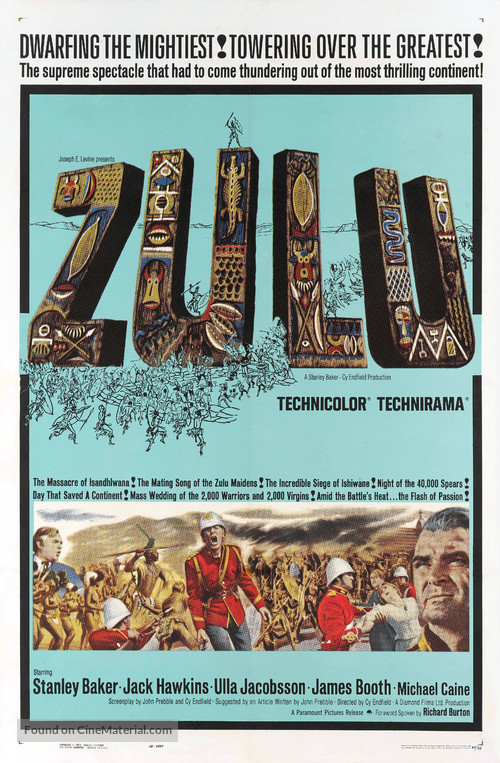 Zulu - Movie Poster