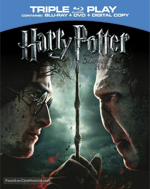 Harry Potter and the Deathly Hallows: Part II - Blu-Ray movie cover