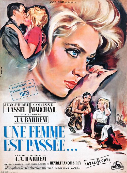 Nunca pasa nada - French Movie Poster