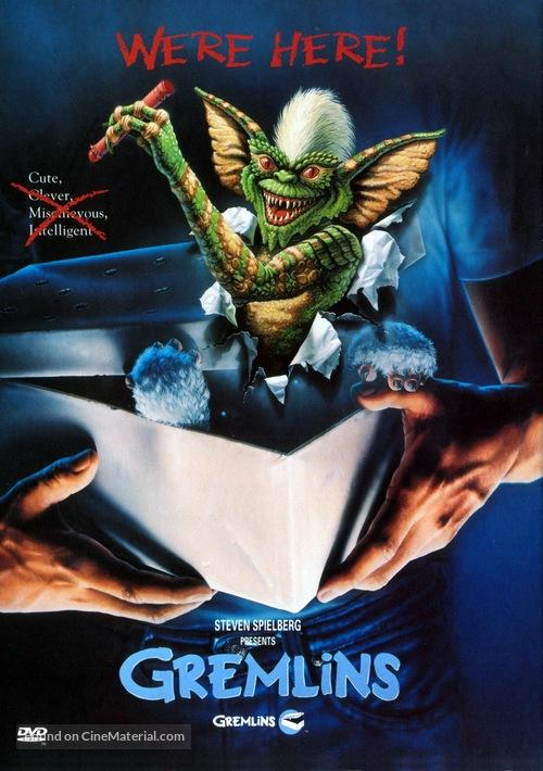 Gremlins - DVD movie cover