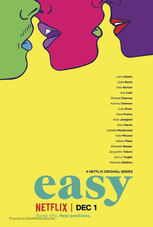 """""""Easy"""" - Movie Poster"""