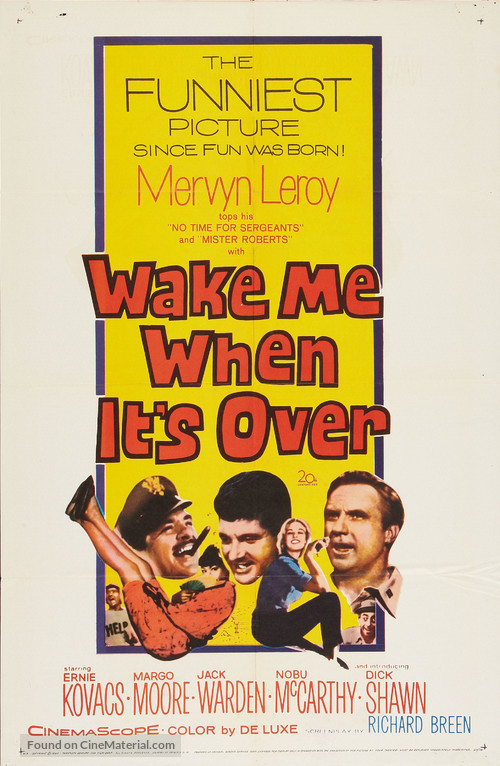 Wake Me When It's Over - Movie Poster