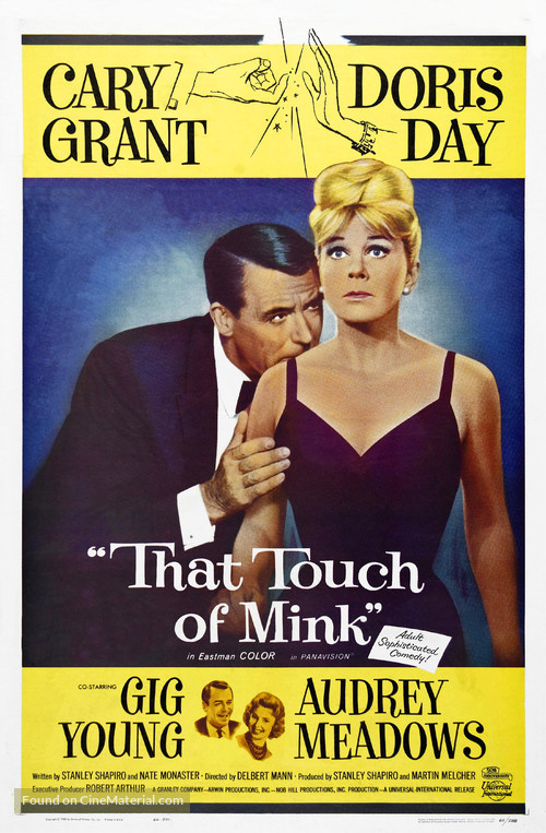 That Touch of Mink - Theatrical movie poster