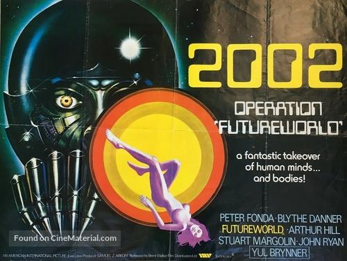Futureworld - British Movie Poster