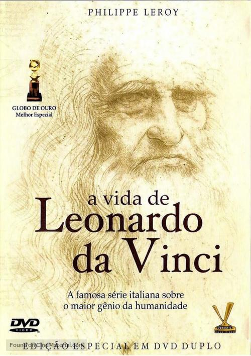 La Vita Di Leonardo Da Vinci 1971 Brazilian Movie Cover