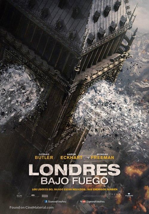 London Has Fallen - Peruvian Movie Poster