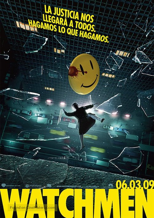 Watchmen - Spanish Movie Poster
