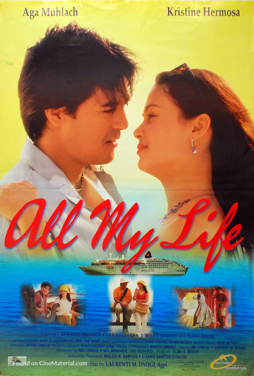 All My Life 2004 Philippine Movie Poster