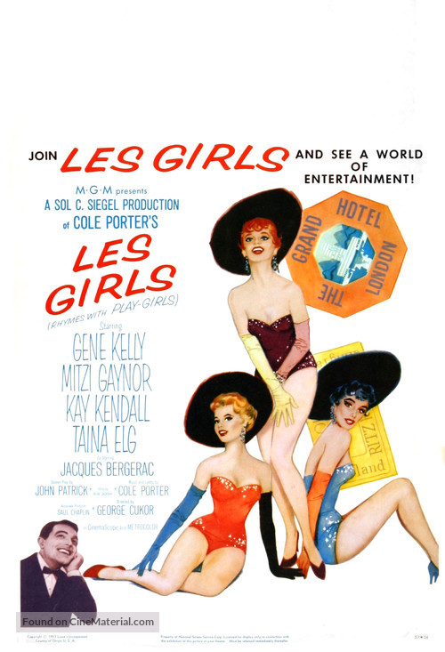 Les Girls - Movie Poster