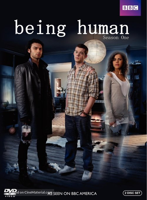 """""""Being Human"""" - DVD movie cover"""