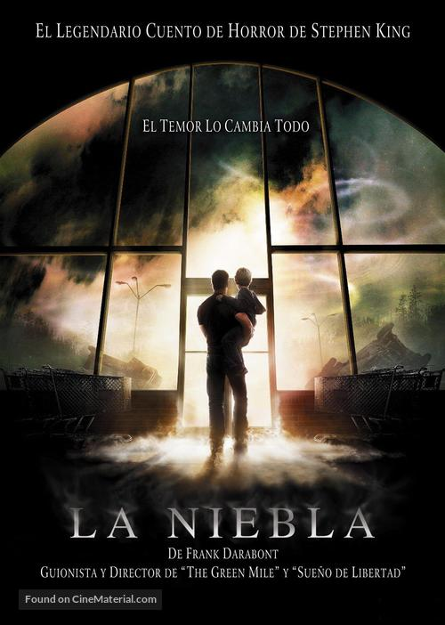The Mist - Argentinian Movie Cover