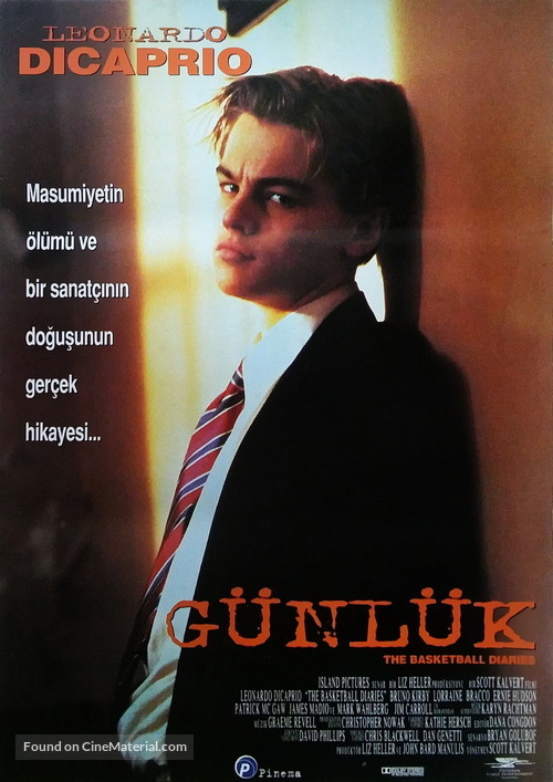 The Basketball Diaries - Turkish Movie Poster