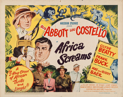 Africa Screams - Movie Poster