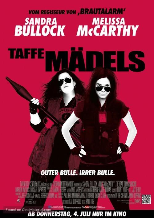 The Heat - German Movie Poster