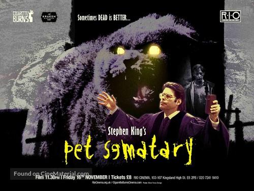 Pet Sematary - British Movie Poster