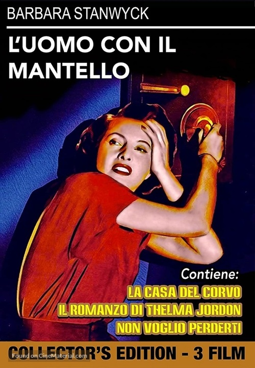 The Man with a Cloak - Italian DVD movie cover
