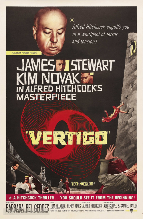 Vertigo - Movie Poster