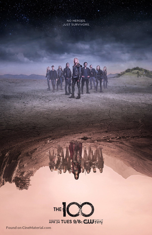"""""""The 100"""" - Movie Poster"""