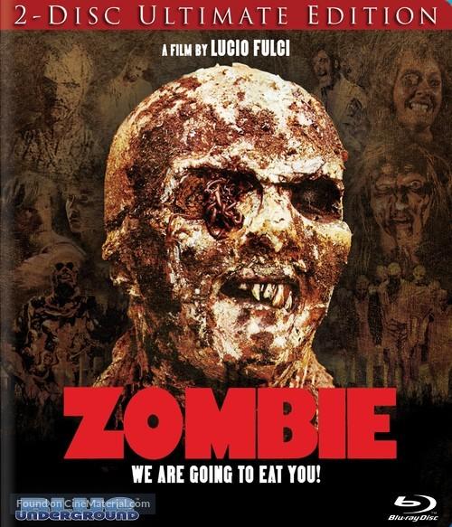 Zombi 2 - Blu-Ray movie cover