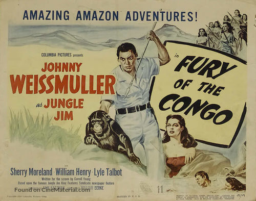 Fury of the Congo - Movie Poster