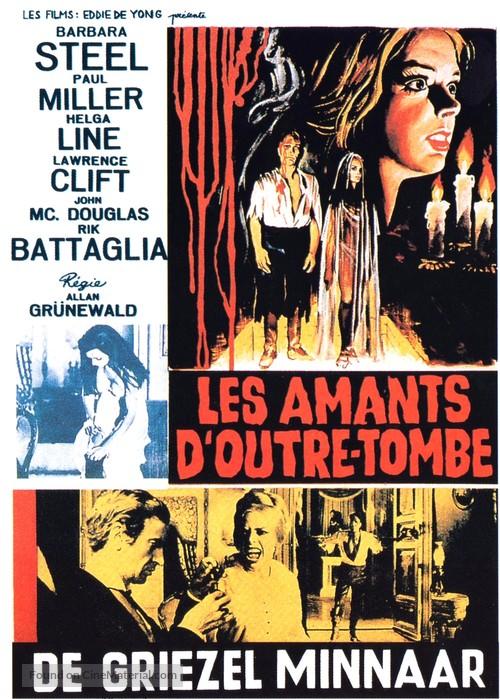 Amanti d'oltretomba - Belgian Movie Poster