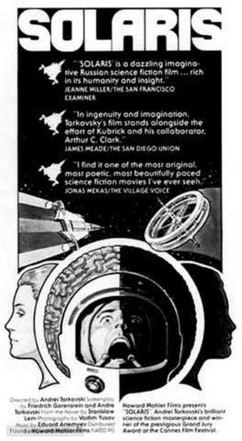 Solyaris - Movie Poster
