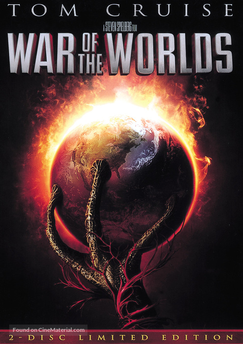 War of the Worlds - DVD movie cover