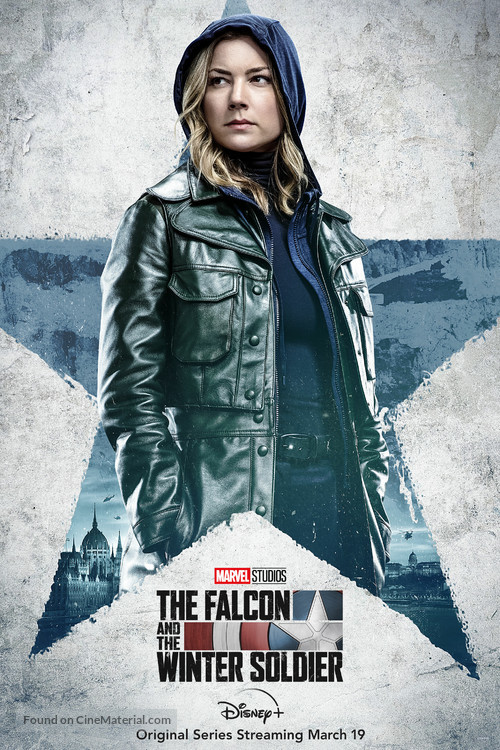 """""""The Falcon and the Winter Soldier"""" - Movie Poster"""