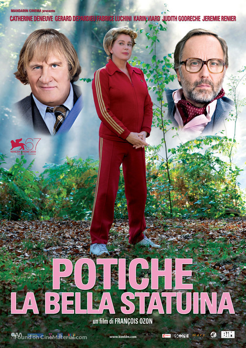 Potiche - Italian Movie Poster
