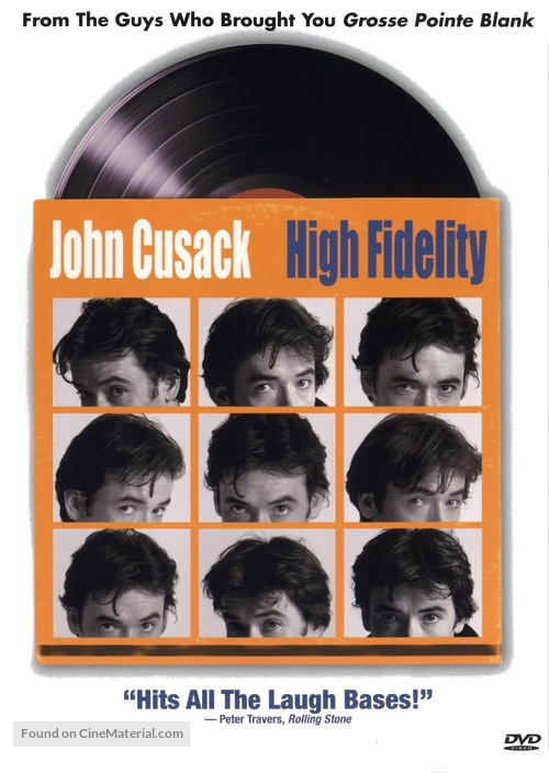 High Fidelity - DVD movie cover
