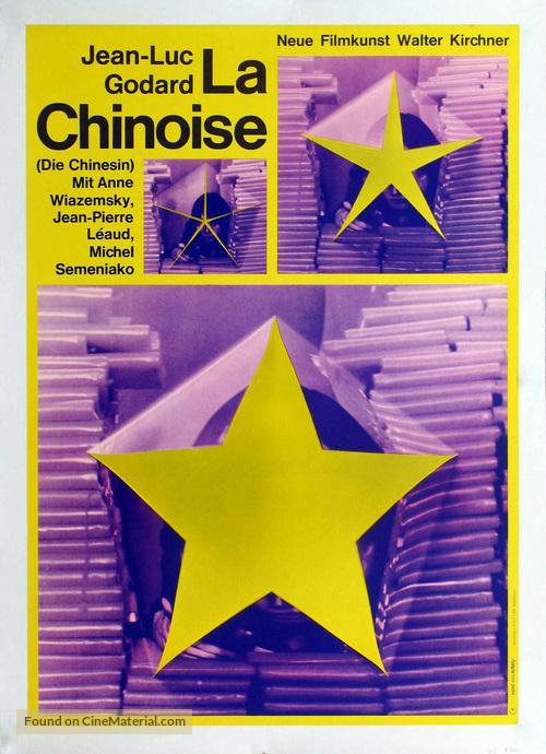 La chinoise - German Movie Poster
