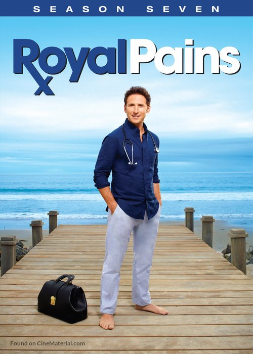 """""""Royal Pains"""" - DVD movie cover"""