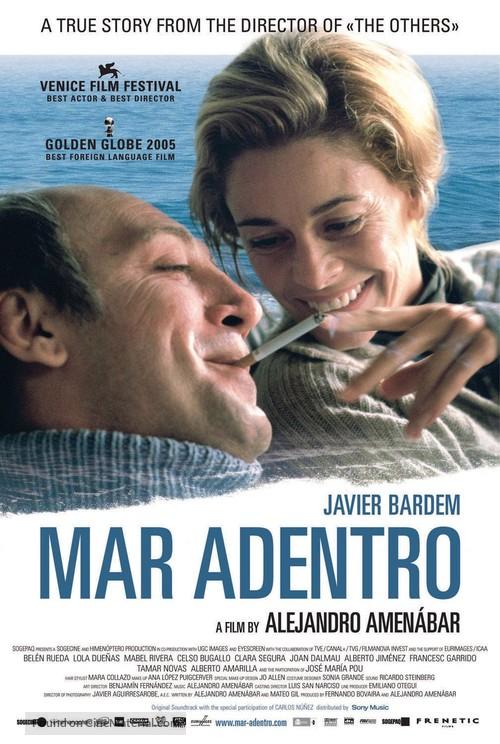 Mar adentro - Swiss Movie Poster