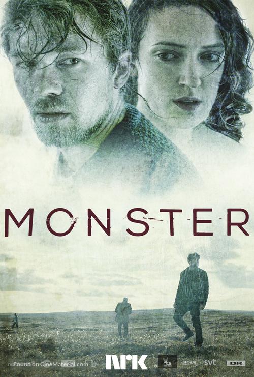 """""""Monster"""" - Norwegian Movie Poster"""