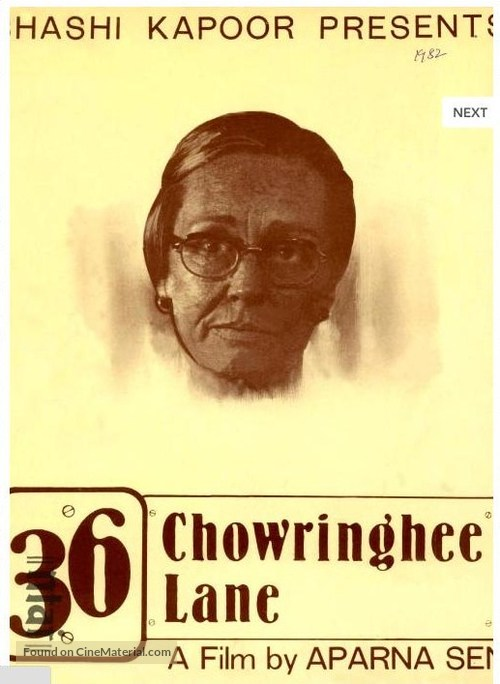 36 Chowringhee Lane (1981) Indian movie poster