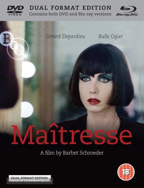 Maîtresse - British Blu-Ray movie cover