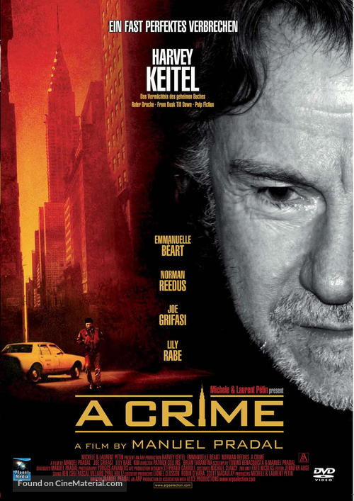 A Crime - German Movie Cover