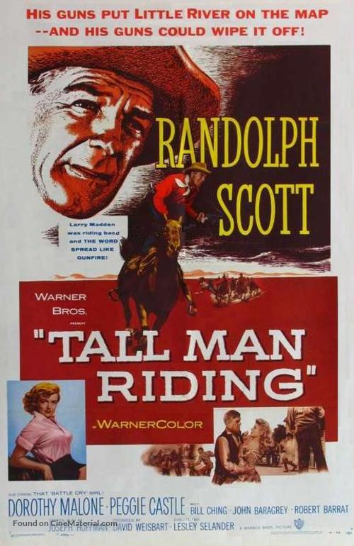 Tall Man Riding - Movie Poster