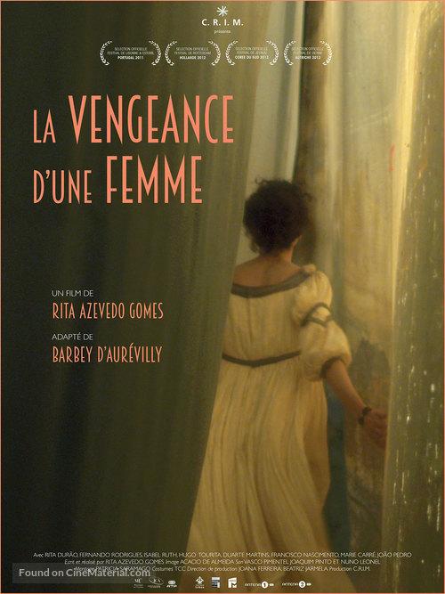 A Vingança de Uma Mulher - French Movie Poster