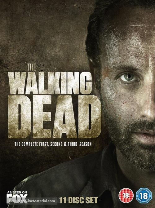 """""""The Walking Dead"""" - British DVD movie cover"""