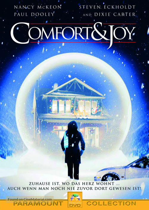 Comfort and Joy - German DVD movie cover