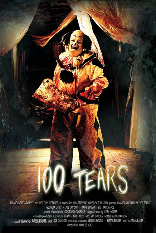 100 Tears - Movie Poster