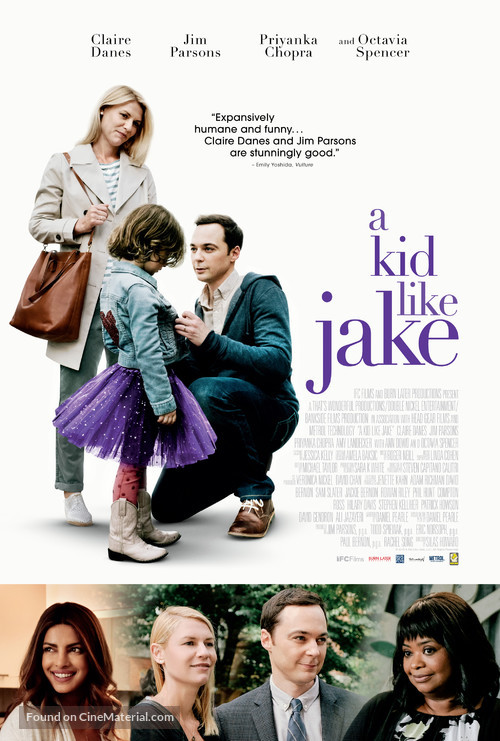A Kid Like Jake - Movie Poster