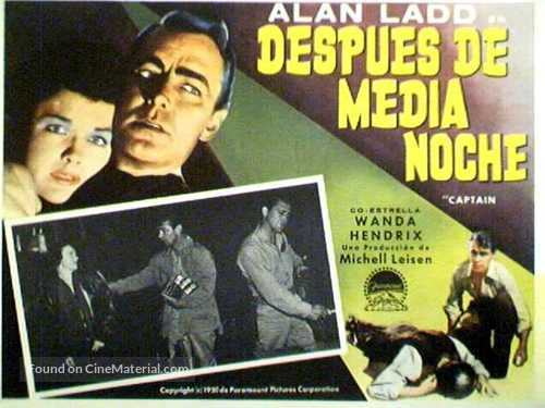 Captain Carey, U.S.A. - Argentinian Movie Poster
